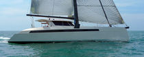 cruising catamaran (sailboat, teak deck) 54 Alibi