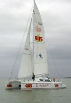 cruising-racing catamaran (sailboat) FREYDIS 50 RACING Lerouge yachts