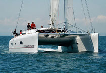 cruising-racing catamaran (sailboat) TS 50' GA Xlight Catamaran