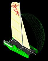 cruising-racing catamaran (sailboat) CAT 23 Veuliah Yachts