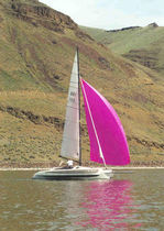cruising sail : spinnaker (for multihulls)  Yager Sails