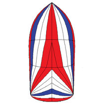 cruising sail : symmetric spinnaker SYM8 / 103 M² Spinnaker One