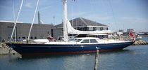 cruising sailboat : luxury sailing-super-yacht (steel) FIDEL Danish Yacht