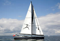 cruising sailboat (custom-made, aluminium) 24M S/Y INTUITION CONRAD S.A.