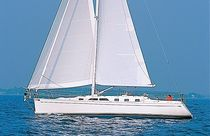 cruising sailboat (deck saloon, 2 cabins) SAGA 43 Saga
