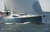 cruising sailboat (twin steering wheel, 2 cabins) SAGA 409 Saga