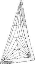 cruising sail : headsail (tri-radial)  Shore Sails