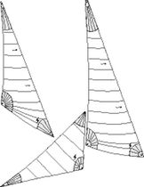 cruising sail : storm jib  Shore Sails