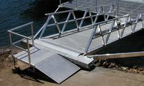 custom-made pontoon gangway  Marina Dock Systems
