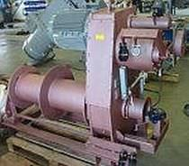 davit winch for ships (hydraulic drive, double drum) W07R GLOBAL DAVIT