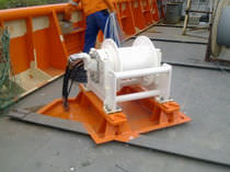 davit winch for ships  Norwegian Deck Machinery
