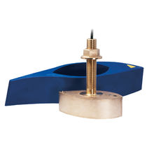 depth - temperature transducer for boat (thru-hull, bronze) B265 Airmar