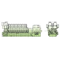 diesel generator set for ships (common-rail) V32/44CR (6518 -> 10864 KW @ 720/750 RPM) MAN Diesel SE