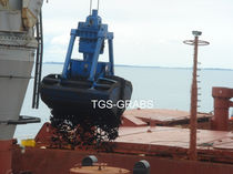 discharge grab for bulk carrier ships  The Grab Specialist BV T.G.S.