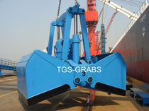 discharge grab for bulk carrier ships (electro-hydraulic)  The Grab Specialist BV T.G.S.