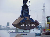 discharge grab for bulk carrier ships (hydraulic )  The Grab Specialist BV T.G.S.