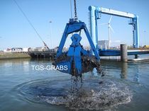 discharge grab for dredging  The Grab Specialist BV T.G.S. 