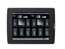 display for yachts and ships (for monitor and control systems, touchscreen)  Marinelec