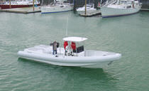 dive-boat : rigid inflatable boat (in-board, center console, T-Top) BULL RUN II McMullen &amp; Wing