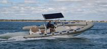 dive-boat : rigid inflatable boat (in-board, center console, T-Top) 7500 ADVENTURER Atomix Boats