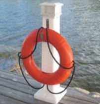 dock lighting pedestal (solar) SENTINEL™ Dock Edge