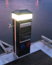 dock power and water pedestal RO1000  Ronautica