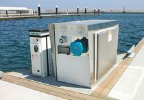 dock power pedestal (for yachts) MEGAMASTER Rolec Services