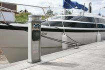 dock power pedestal (with integrated light) STERLING Rollins Marine & Caravan Services