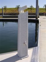 dock water pedestal (with integrated light)  Superior Jetties