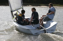 double-handed sailing dinghy (asymmetric spinnaker) RS VISION LDC Racing Sailboats