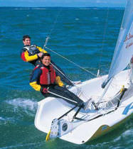 double-handed sailing dinghy (asymmetric spinnaker, trapeze) DECLIC Philéas Boats