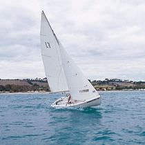 double-handed sailing dinghy (symmetric spinnaker, trapeze) FLYING JUNIOR CNA Cantiere Nautico