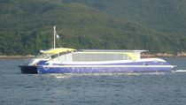 electric boat : sightseeing boat (catamaran, solar energy) 100 PAX Solar Sailor