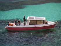 electric boat : sightseeing boat (solar energy) AQUABUS 850T - 12 pax. Grove Boats
