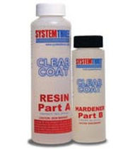 epoxy resin based repair kit CLEAR COAT System Three Resins