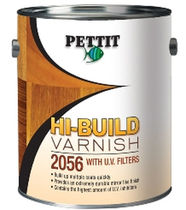 epoxy varnish (for pleasure boats) HI-BUILD  Pettit