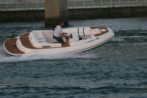 equipped rigid inflatable boat (in-board, side console, sundeck, teak deck) 17&amp;18 EXPRESS Nautica Ribs