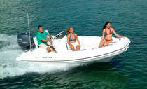 equipped rigid inflatable boat (outboard, center console) 15 WIDEBODY Nautica Ribs