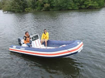 equipped rigid inflatable boat (outboard, side console) NANO 22 Nautica Ribs