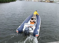 equipped rigid inflatable boat (outboard, side console) NANO 18 Nautica Ribs