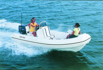 equipped rigid inflatable boat (outboard, side console) 15 VENTURE Nautica Ribs