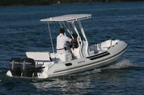 equipped rigid inflatable boat (outboard, twin engine, center console, T-Top) 18 WIDEBODY Nautica Ribs
