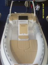equipped rigid inflatable boat (in-board, center console, sundeck) 730 OPEN EFB Master