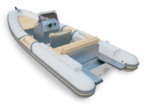 equipped rigid inflatable boat (in-board, center console, sundeck) THOR 24 Mancini s.a.s. di Mancini Giancarlo & Co.