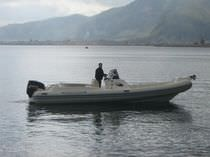 equipped rigid inflatable boat (in-board, center console, sundeck, refrigerator, toilet) 820 Maestrale
