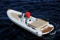 equipped rigid inflatable boat (in-board, center console, sundeck, teak deck, shower, sink, toilet) 23 EFB NOAH SRL