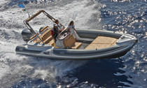 equipped rigid inflatable boat (in-board, side console, sundeck) MV 780 EFB Motonautica Vesuviana