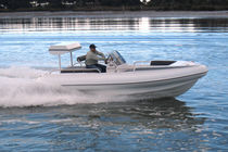 equipped rigid inflatable boat (outboard, center console, roll-bar)  McMullen & Wing