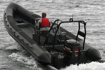 equipped rigid inflatable boat (outboard, center console, roll-bar) HIGH PERFORMANCE 7.8M Tornado Boats