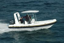 equipped rigid inflatable boat (outboard, center console, roll-bar, T-Top) Sxv 670 Weihai Noahyacht Co.